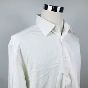 David Donahue Mens 17 1/2 32/33 Dress Shirt
